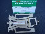 "Mossetti ""Patriot Striker"" 1/24 stainless steel chassis, ISRA legal, thick:  0,039"" (1 mm)"