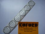 Koford motor box labels (6 pieces per package)