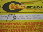 Champion molle per carboncini motore, tensione media