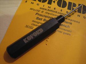 Koford chiavino per brugole 4/40 di ruote e corone
