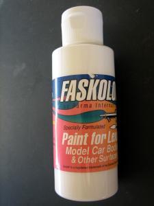 "Faskolor ""Faswhite"" vernice bianca per carrozzerie in lexan"