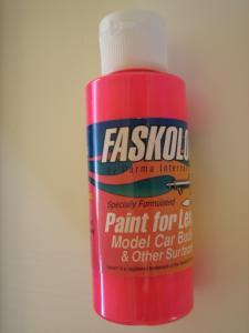 """Faskolor """"Fasfluorescent"""" vernice rosa fluorescente per carrozzerie in lexan"""