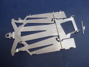 "JK telaio Cheeta X24 in 2 pezzi di acciaio, spessore: 0.030"" (0,762mm)"