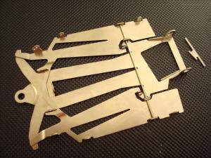 "JK telaio X25 produzione in 2 pezzi di acciaio, spessore 0.035"" (0,90mm)"
