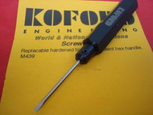 Koford piccolo giravite con impugnatura professionale e punta indurita