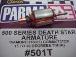 Parma indotto per motori 16D Death Star series, 70t30,  collettore rettificato al diamante, anticipo tra 15 e 20 gradi