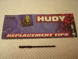 """Hudy punta ricambio .050"""" per brugole, lunghezza: 60mm"""