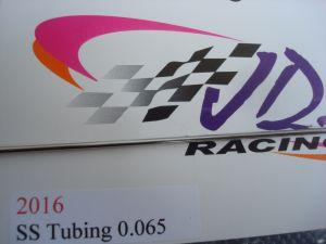 "JDS tubicino acciaio diametro 1,66 mm (.065""), spessore 0,25 mm (.010""), lunghezza 30 cm (1')"