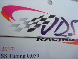 "JDS tubicino acciaio diametro 1,27 mm (.050"") , spessore 0,25 mm (.010""), lunghezza 30 cm (1')"