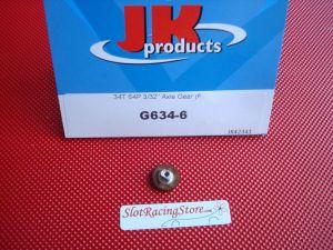 "JK corona nylon ultra leggera, modulo 64, 34 denti, per assali 3/32"""