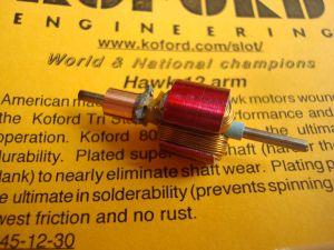 Koford indotto gruppo 12 per motore JK Hawk, 30 gradi di anticipo