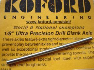 "Koford assale diametro 1/8"", lunghezza 66,50mm"