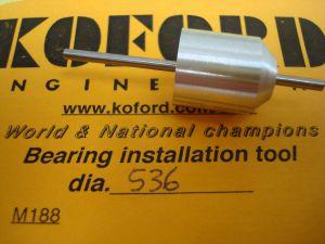 """Koford allineatore per magneti e bronzine/cuscinetti, diametro: .536"""""""
