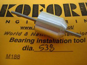 """Koford allineatore per magneti e bronzine/cuscinetti, diametro .538"""""""
