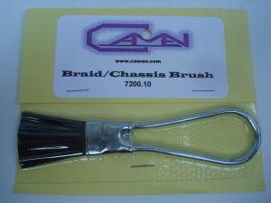 Camen spazzolina in acciaio per contatti striscianti e telai