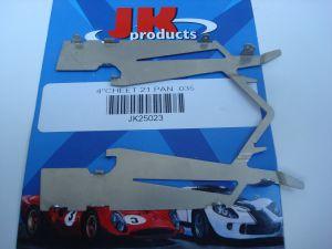 "JK pance in acciaio per telai C21 e  C55, spessore: 0,035"" (0,89mm)"