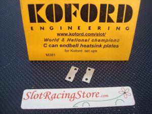 Koford supporti in alluminio per porta carboncini delle testine Koford
