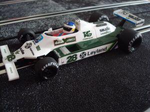 "Fly Williams FW07-B Formula 1 - GP Monaco 1980 - pilota: Carlos ""Lole"" Reutemann"