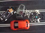 NSR Abarth 500 Assetto Corse  kit con carrozzeria rossa,  SW e motore Shark 20K