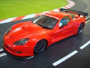 NSR Chevrolet Corvette C6R Test car colore rosso, edizione limitata, AW e motore King EVO 21K