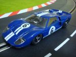 NSR Ford MKII GT40 colore blu 24H Le Mans 1966, SW e motore Shark 20K