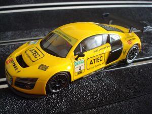 NSR Audi R8 LMSGT3  Adac Hockenheim 2009 #4 colore giallo, AW King e motore King EVO3