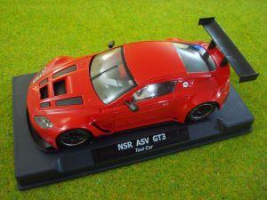 NSR Aston Martin Vantage GT3 test car rossa, AW e motore King EVO3