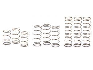 NSR set completo di molle per sospensioni (3 molle morbide +3 molle medie +3 molle dure)