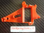 NSR supporto motore triangolare AngleWinder, extra hard, colore rosso