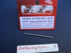 NSR assale in acciaio diametro 2mm, lunghezza 55mm