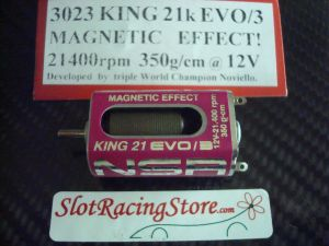 NSR motore King 21K Evo/3 effetto magnetico 21400rpm 350g-cm @12V, long can