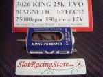 NSR motore King 25K Evo effetto magnetico 25000rpm 350g-cm @12V, long can