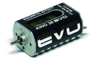 NSR motore King 38K Evo effetto magnetico 38500rpm 365g-cm @12V, long can