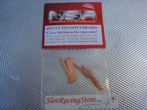 NSR spazzole Super Racing, spessore 0,2mm, 10 pcs