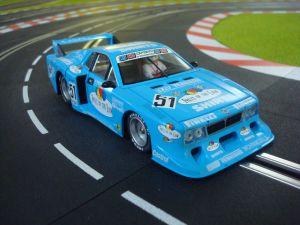 Sideways Lancia Beta Montecarlo - Fruit of the Loom - DRM winner 1980