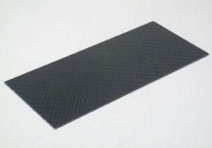 Scaleauto piastrina in fibra di carbonio 140mm x 62mm x 1mm