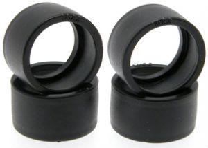 """Scaleauto gomma 1/32"""" Zero Grip 17,5 x 10mm per cerchi con diametro da 16-17mm (4 pezzi)"""