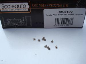 Scaleauto brugole in acciaio M2 x 2mm, 10 pezzi