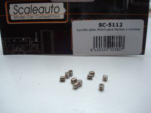 Scaleauto brugola M3 x 3mm, 10 pezzi