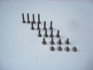 Scaleauto viti in titanio M2 con testa rotonda, 20 pezzi