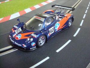 Scaleauto Pagani Zonda LeMans 2004 #60 Force One Racing