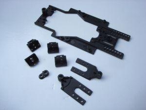 Scaleauto telaio 1/32 RT-3 MWB, passo medio 77-84mm