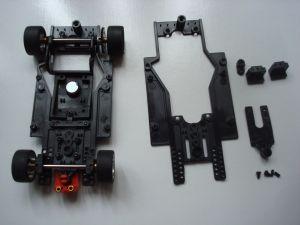 Scaleauto telaio RT-3 morbido,  completo con passo lungo e pezzi per passo medio