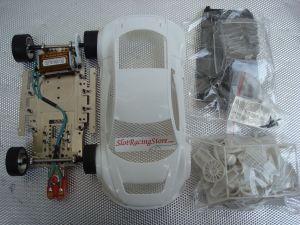 Scaleauto Audi LMS GT3 1/24 Kit con carrozzeria da dipingere