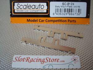 Scaleauto supporti in acciaio per montaggio carrozzeria modelli  Audi R8 LMS GT3 e  Bmw Z4 GT3