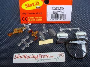 Slot.it Toyota 88C trasparent parts