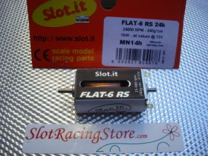 Slot.it Flat-6 motor RS 25000 RPM 240g, different opening case