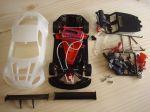 NSR Aston Martin Vantage GT3 kit con carrozzeria bianca, AW King EVO3