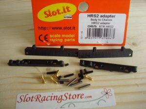 Slot.it adattatore carrozzerie/telaio per telai modello HRS2