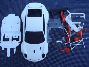 NSR Porsche 997 GT3 kit carrozzeria da dipingere
